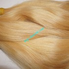 18 inch Blonde Human Hair Straight Remy Hair