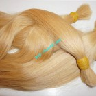 24 inch Blonde Human Hair Straight Remy Hair