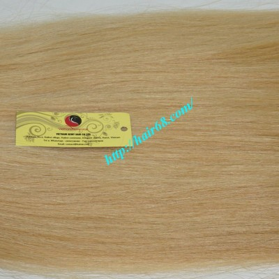8 inch Blonde Weave Hair Extensions - Straight