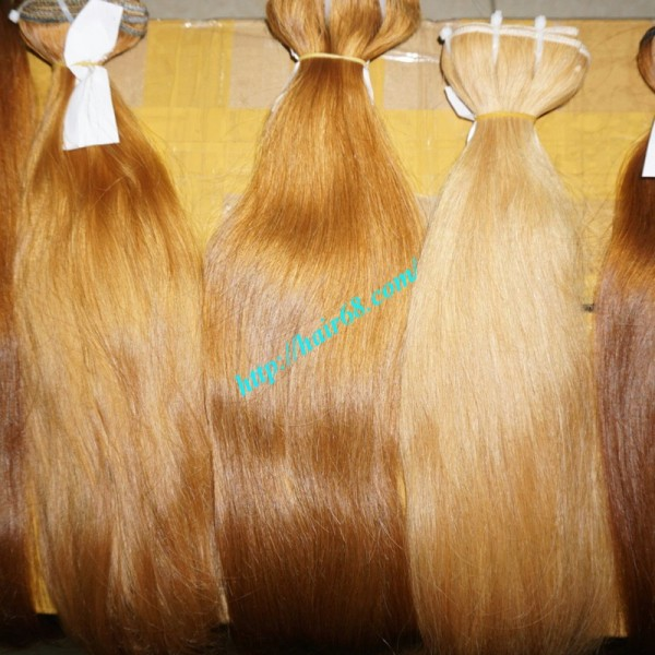 Cheap Blonde Weave Hair Extensions Tangle Free