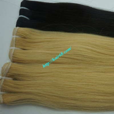 30 inch Blonde Weave Hair Extensions - Straight