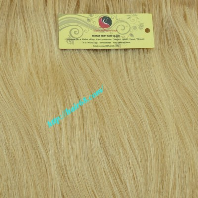16 inch Blonde Weave Hair Straight Remy Hair