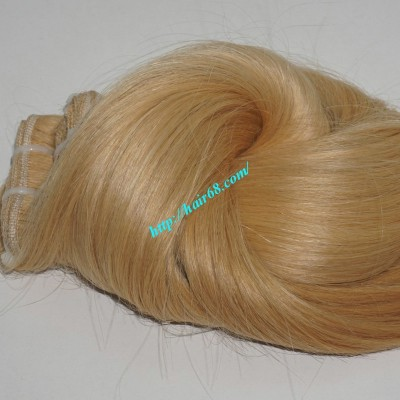 20 inch Blonde Weave Hair Straight Remy Hair