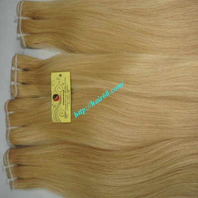 22 inch Blonde Weave Hair Straight Remy Hair