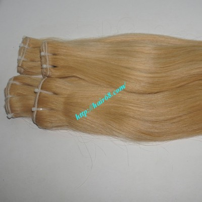 28 inch Blonde Weave Hair Straight Remy Hair