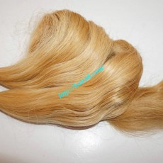 16 inch Wavy Short Blonde Hair Weave