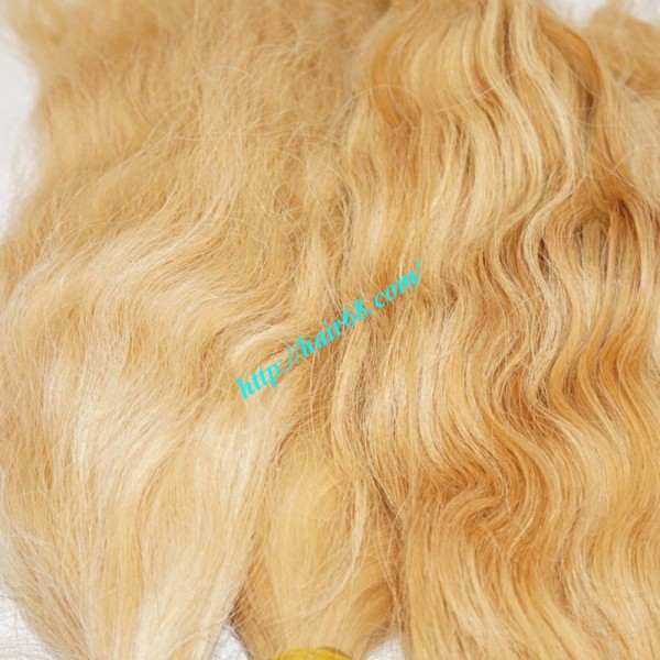 Selling Cheap Blonde Human Hair Weave 100 Remy Hair