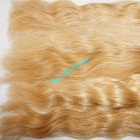 26 inch Cheap Blonde Human Hair Weave - Natural Wavy