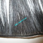 8 inch Hand Tied Remy Hair Wefts Straight Double