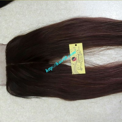 18 INCHES MIDDLE PART LACE CLOSURE STRAIGHT 4x4