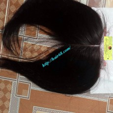 20 INCHES MIDDLE PART LACE CLOSURE STRAIGHT 4x4