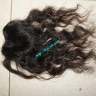 18 inches Middle Part Wavy Lace Closure 4x4