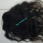 22 inches Middle Part Wavy Lace Closure 4x4