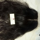 20 inches Middle Part Wavy Lace Closure 4x4