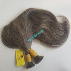 14 inch Grey Hair Color - Straight Double