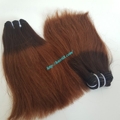 14 INCH STRAIGHT WEAVE HAIR SUPER DOUBLE