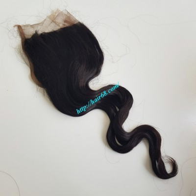 20 inches Free Part Lace Closure Vietnamese Hair