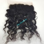 12 inches Vietnamese hair wavy free part lace frontal