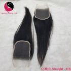 12 inches Free part Lace Closure Vietnamese straight hair