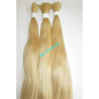 BLONDE HUMAN HAIR STRAIGHT