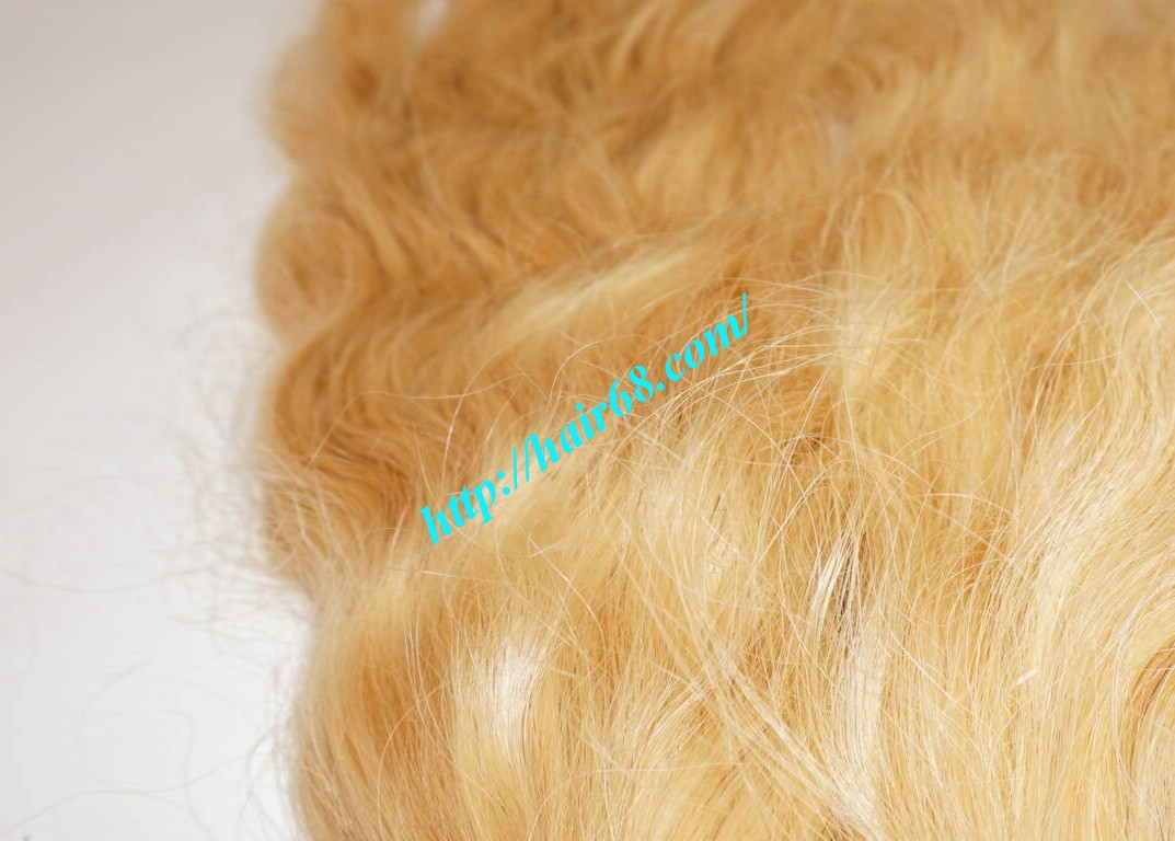 10 inch cheap blonde human hair weave vietnam hair 1