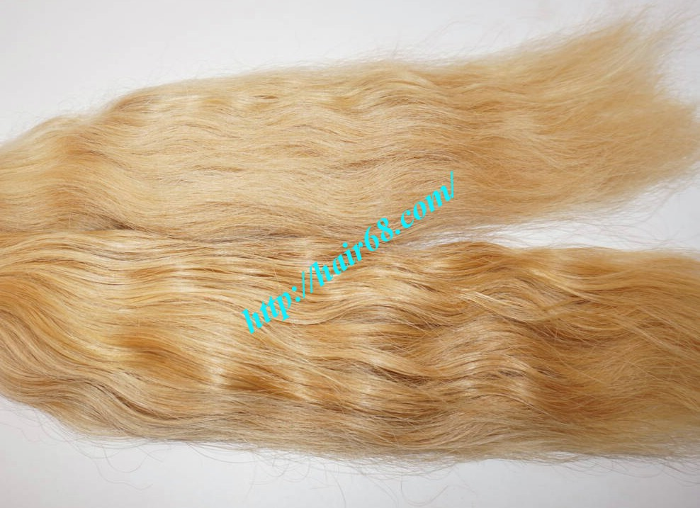 18 inch cheap blonde human hair weave vietnam hair 1