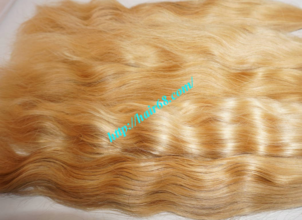 18 inch cheap blonde human hair weave vietnam hair 2