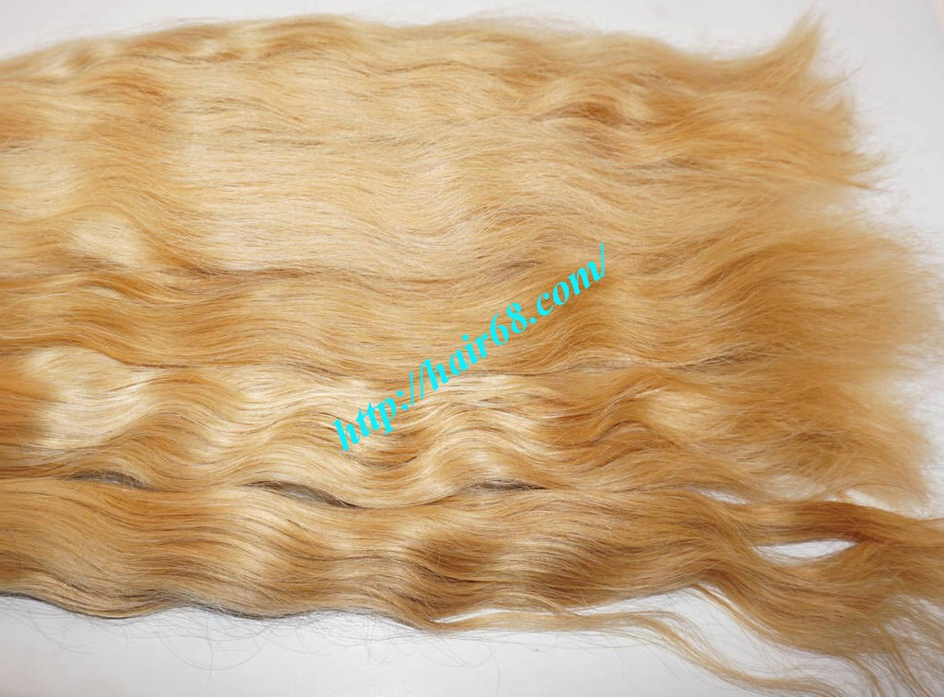 Cheap Blonde Human Hair Weave For Hair Extensions