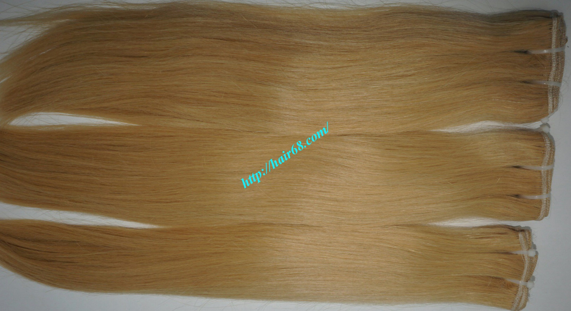 8 inch blonde weave hair straight remy hair 10