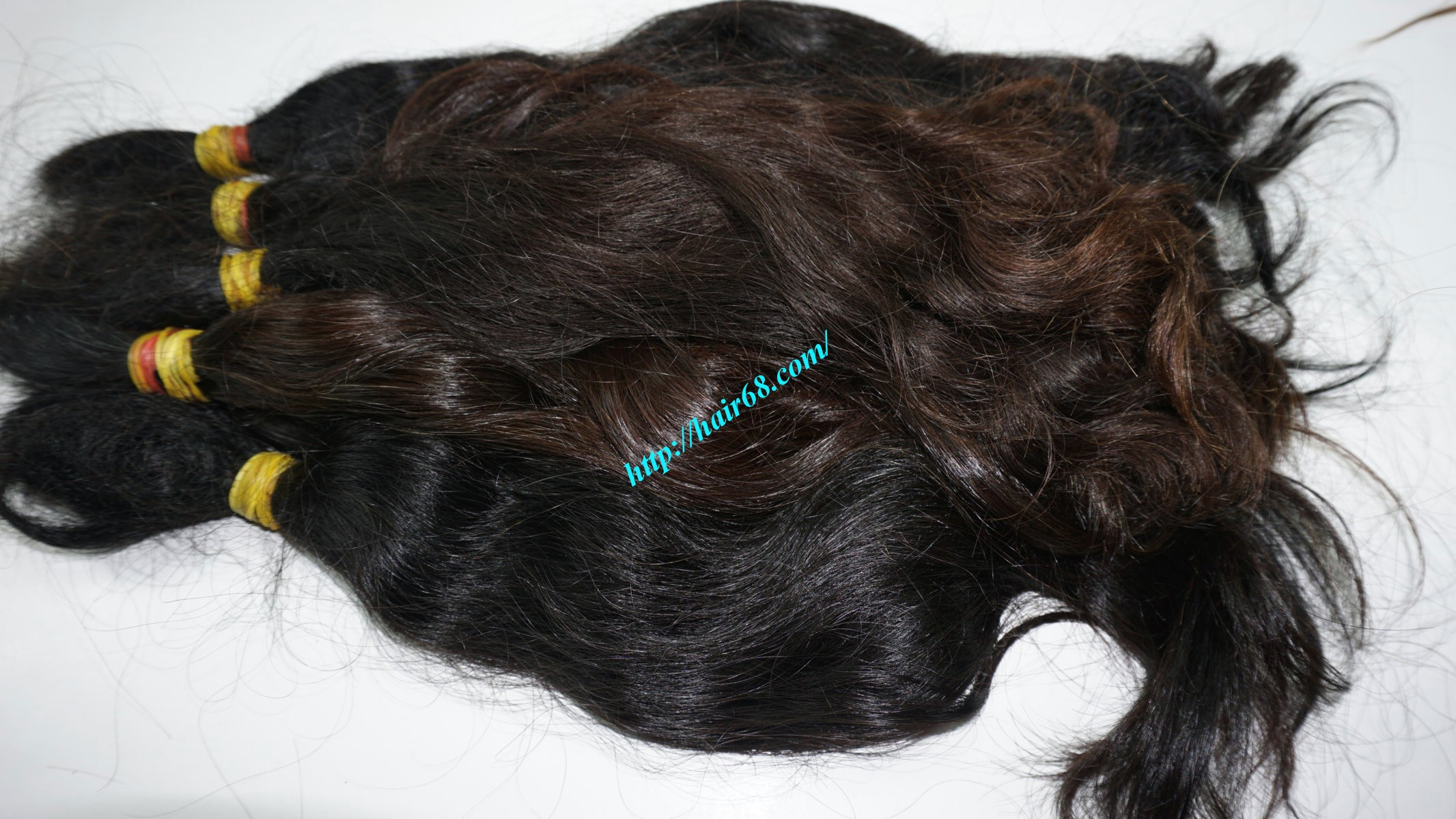 12 inch cheap human hair wavy single drawn 4