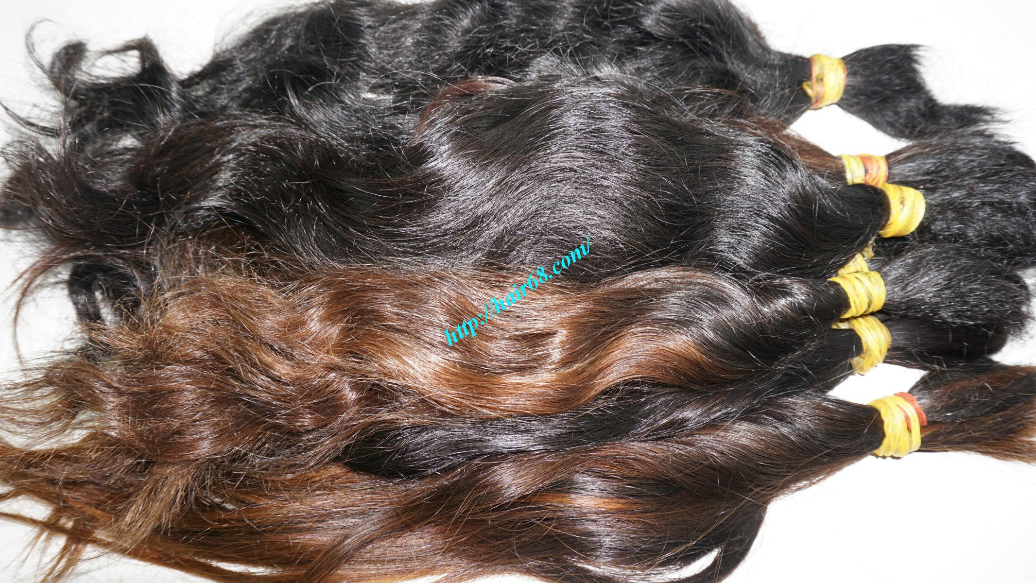 16 inch cheap human hair wavy double drawn 1