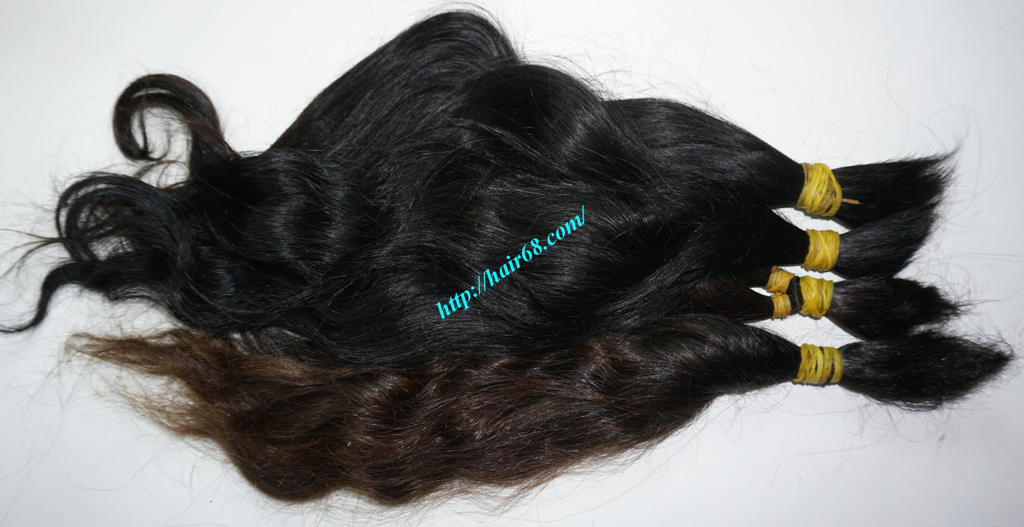 18 inch cheap human hair wavy double drawn 3