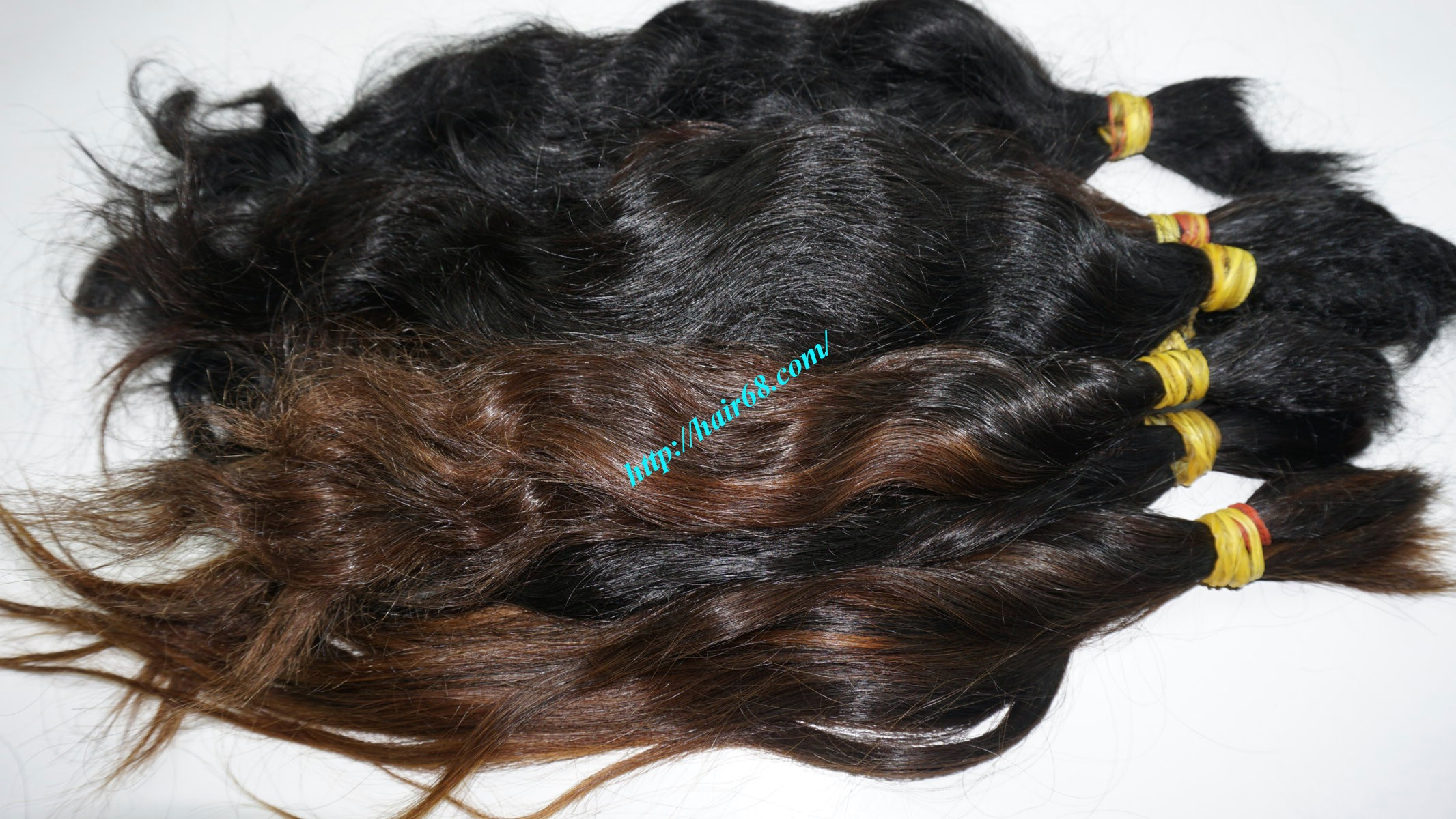 18 inch cheap human hair wavy double drawn 4