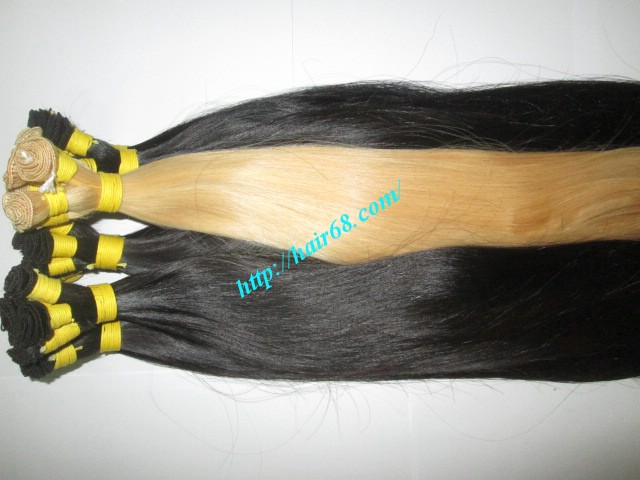 hand tied weft hair extensions 12