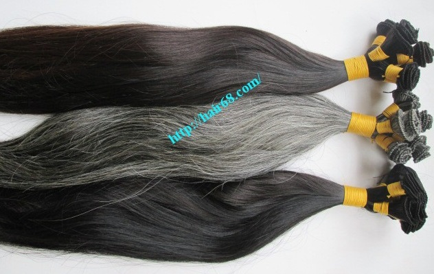 hand tied weft hair extensions 3