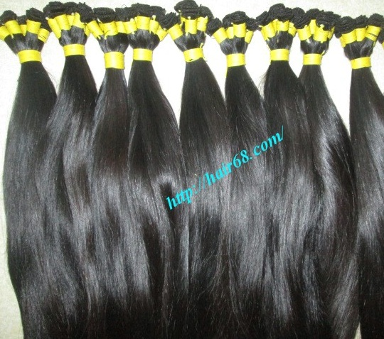 hand tied weft hair extensions 4