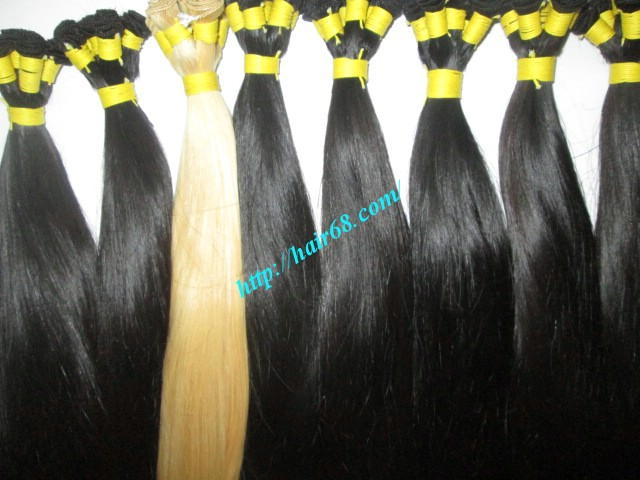 hand tied weft hair extensions 5