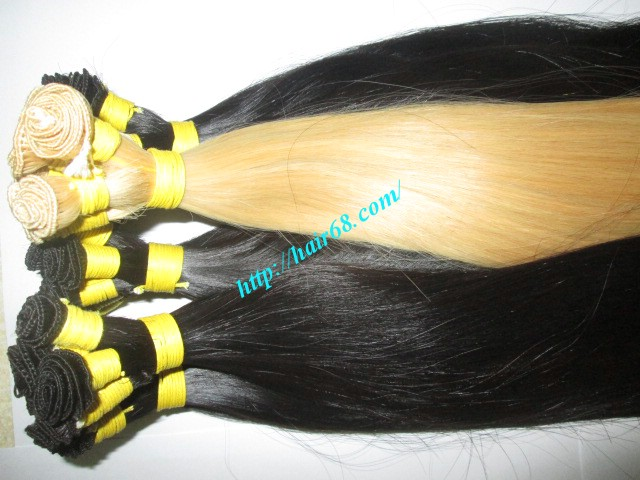 hand tied weft hair extensions 6