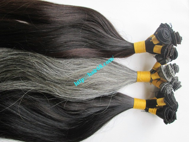 hand tied weft hair extensions 9