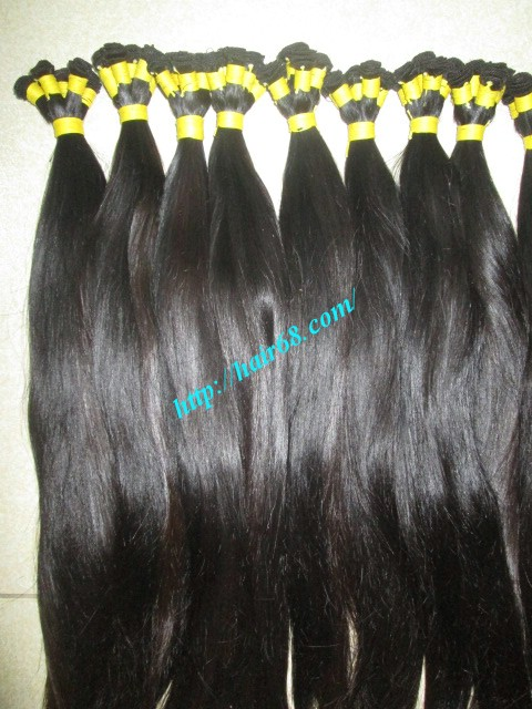 12 inch hand tied weft straight single drawn 3