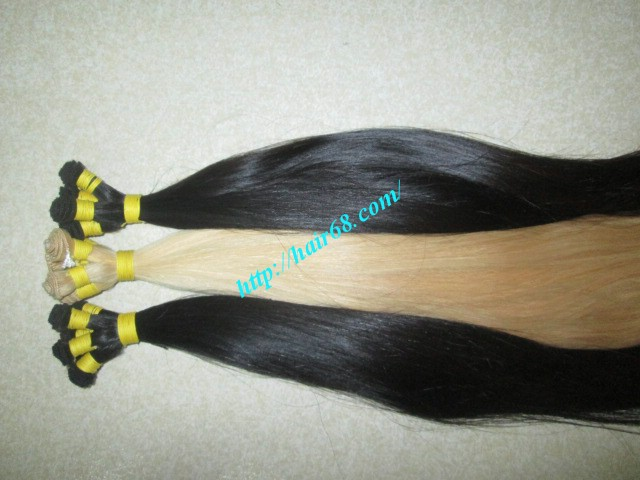 12 inch hand tied weft straight single drawn 5