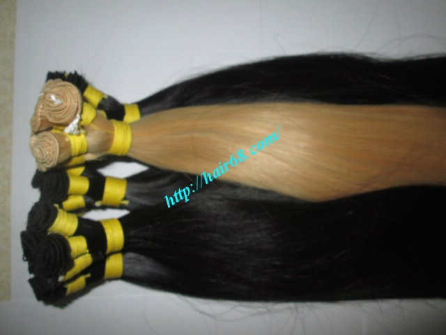 12 inch hand tied weft straight single drawn 6