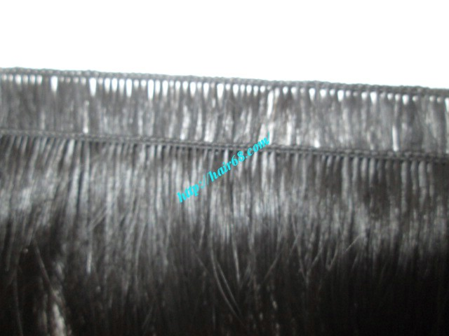 12 inch hand tied weft wavy double drawn 3