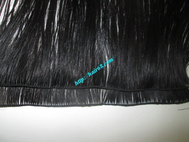 16 inch hand tied weft straight single drawn 1