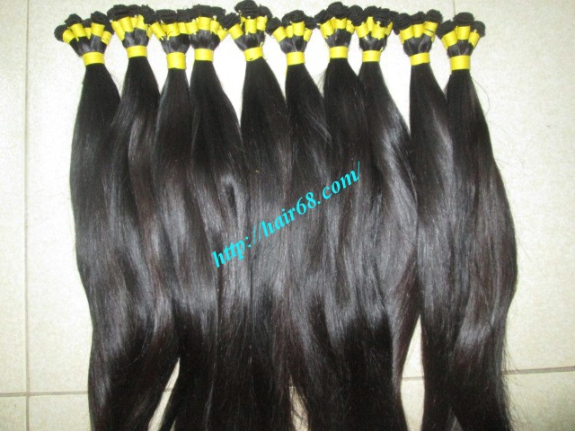 18 inch hand tied weft straight double drawn 1