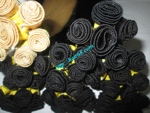 18 inch hand tied weft straight single drawn 6