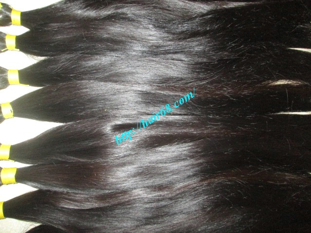 26 inch hand tied weft straight single drawn 4