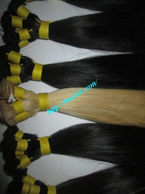 32 inch hand tied weft straight single drawn 5
