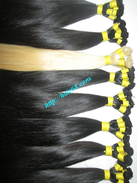 32 inch hand tied weft straight single drawn 6