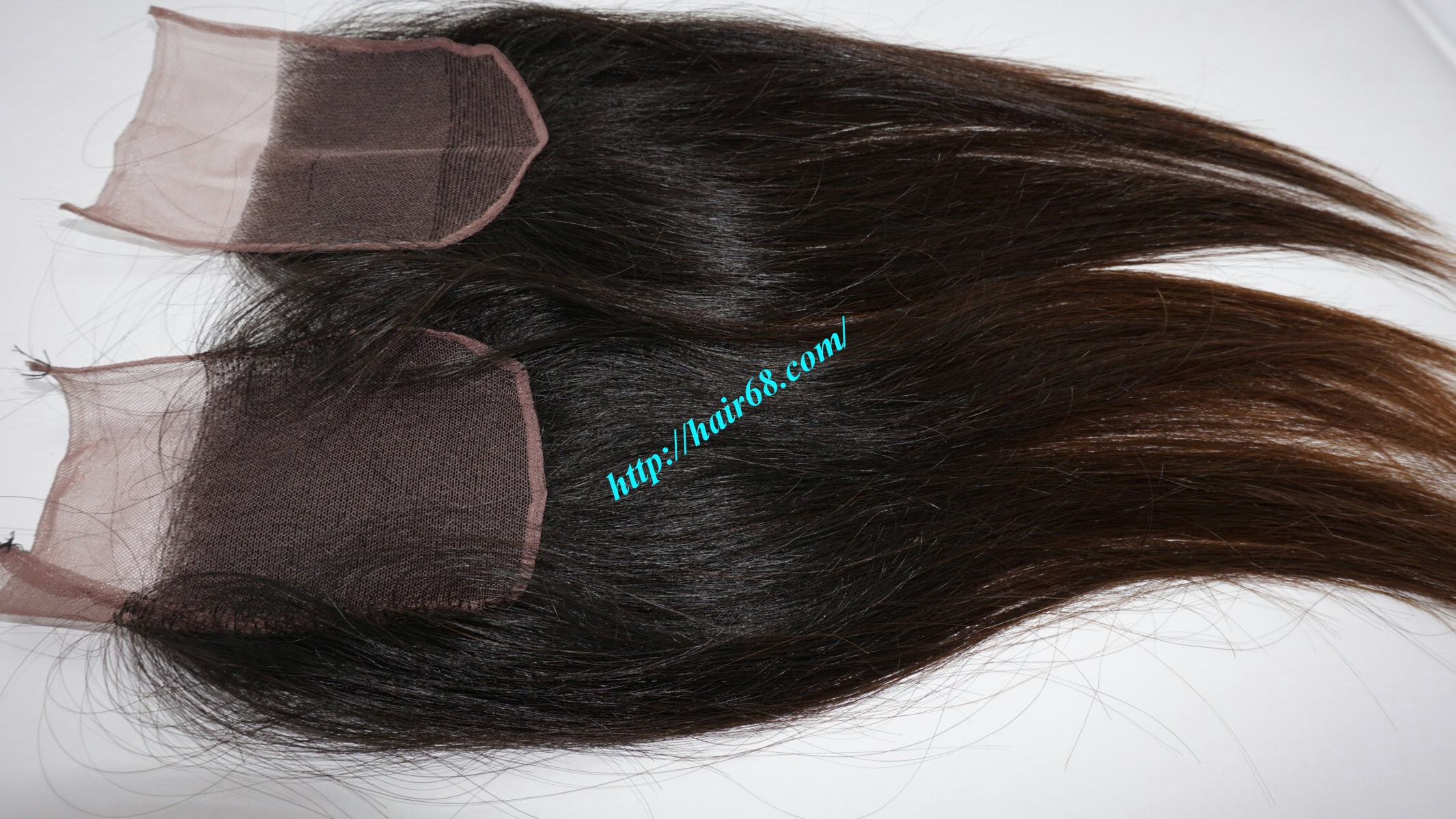 18 inch 4x4 Straight Lace Closure 4